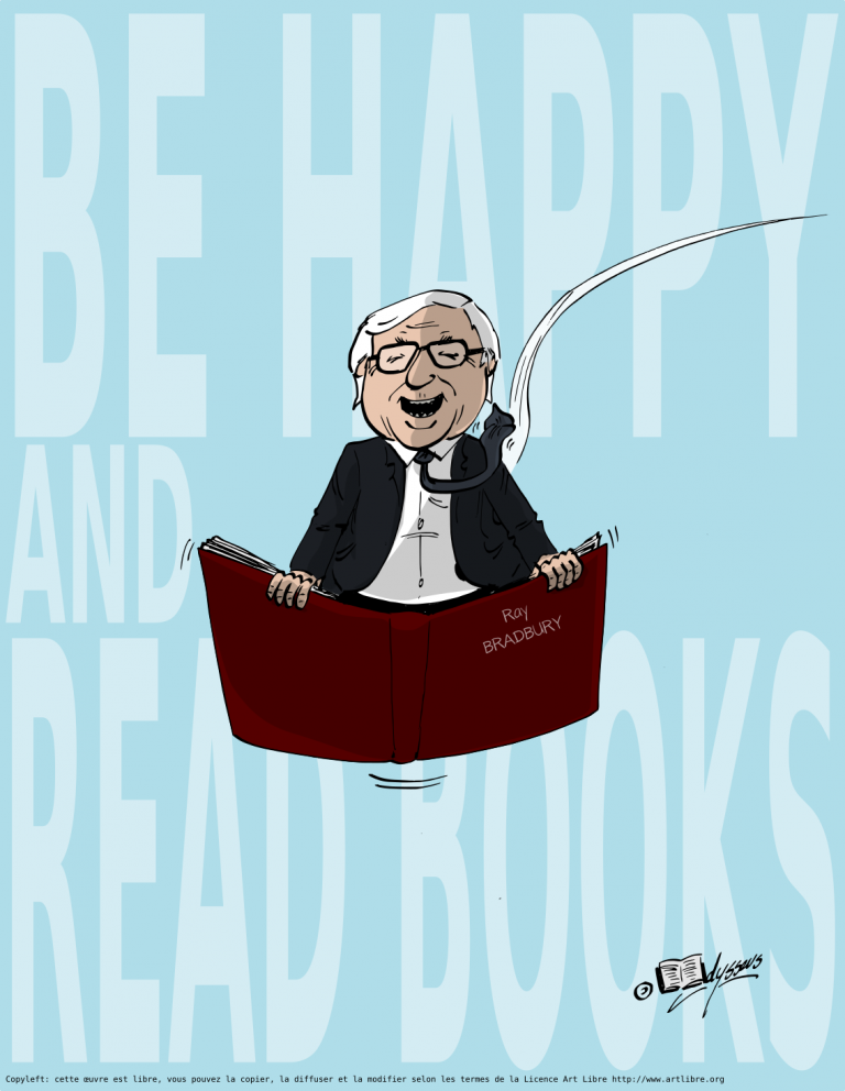 Be happy and read books