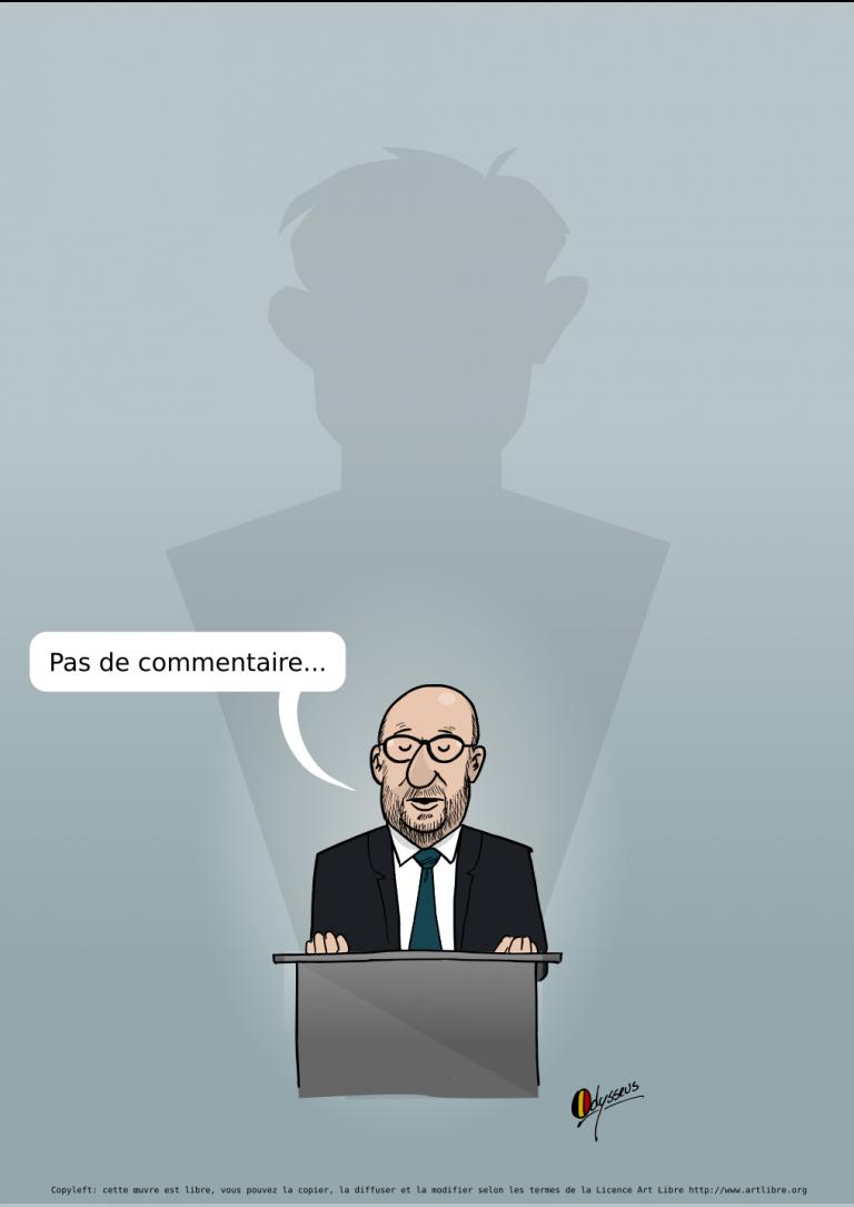 Charles Michel : pas de commentaire