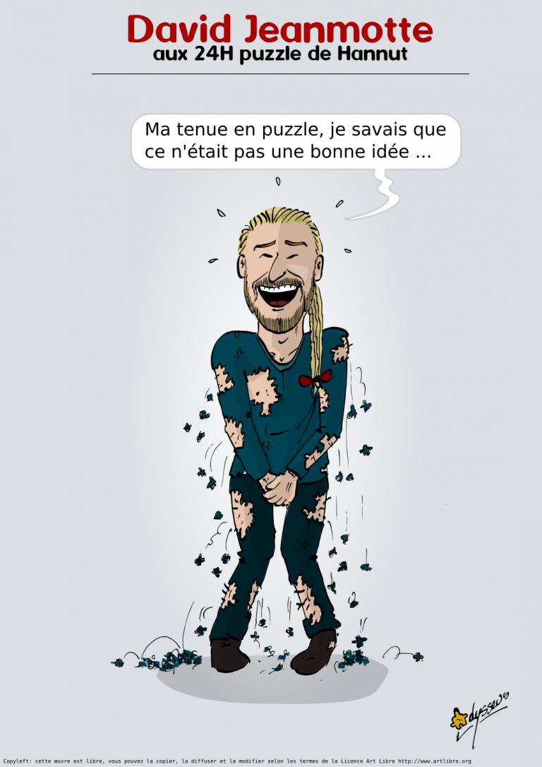 David Jeanmotte aux 24H puzzle de Hannut