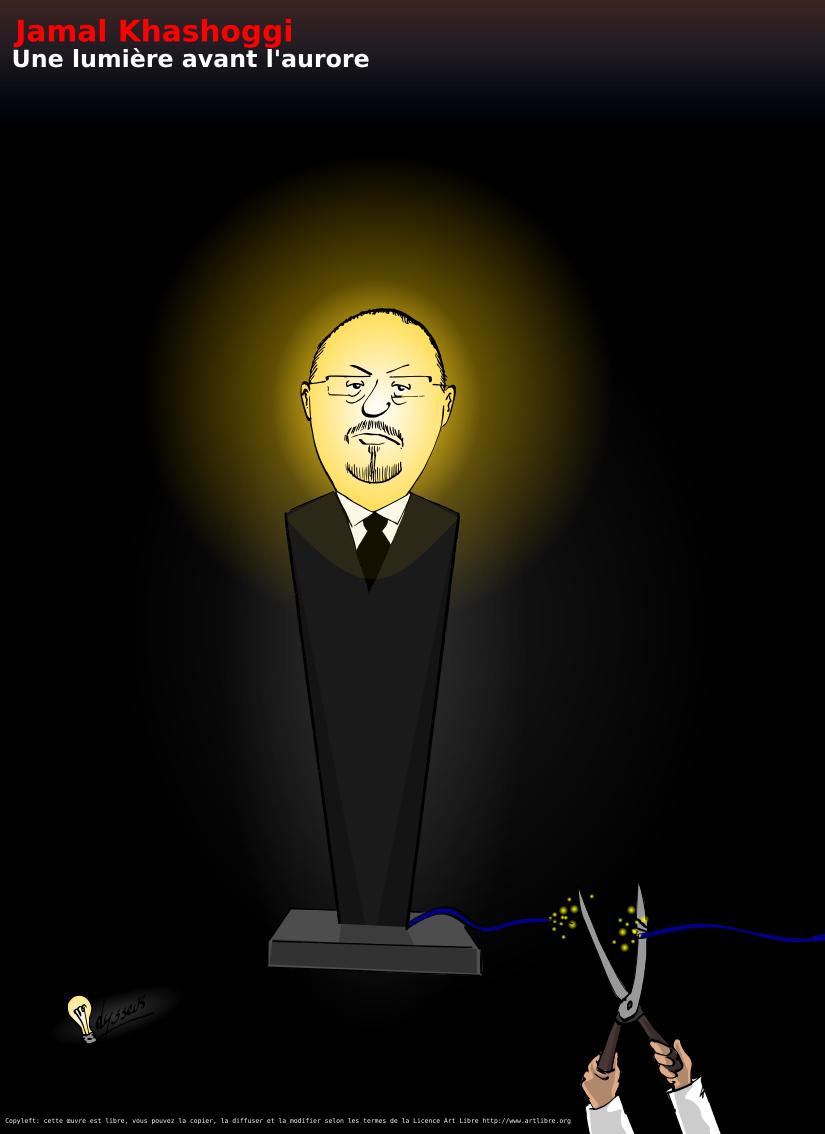 Jamal Khashoggi, une lumière avant l'aurore