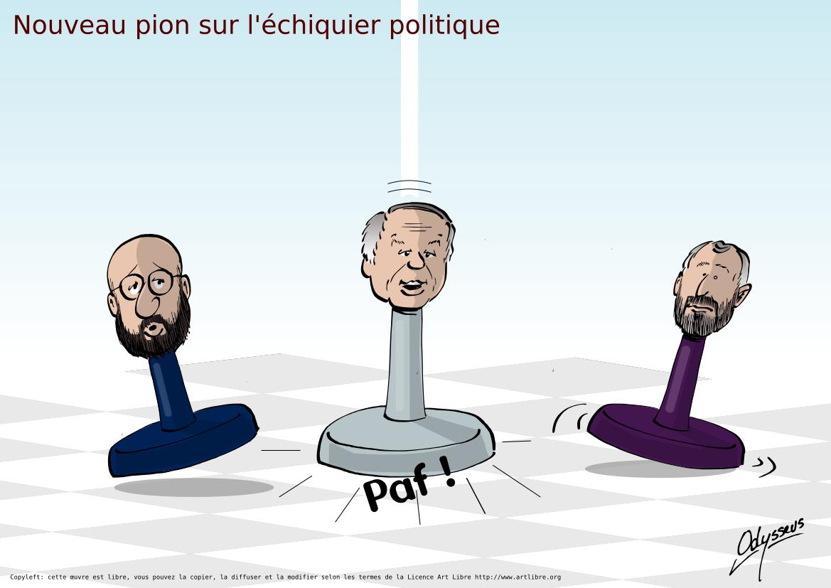 Nouveau pion sur l'échiquier politique belge