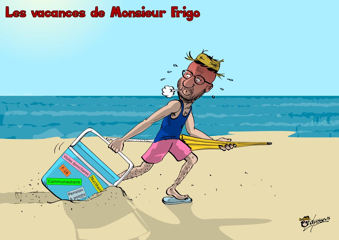 Les vacances de Monsieur Frigo