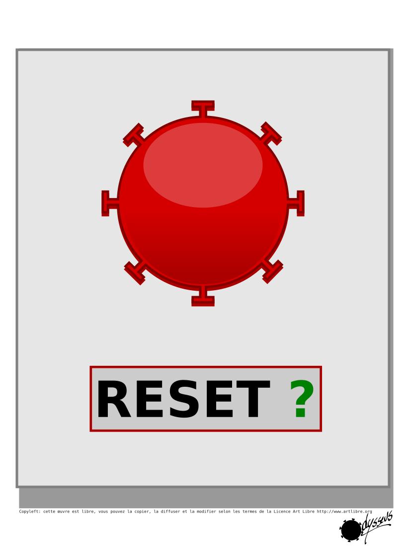 Reset…ou pas ?