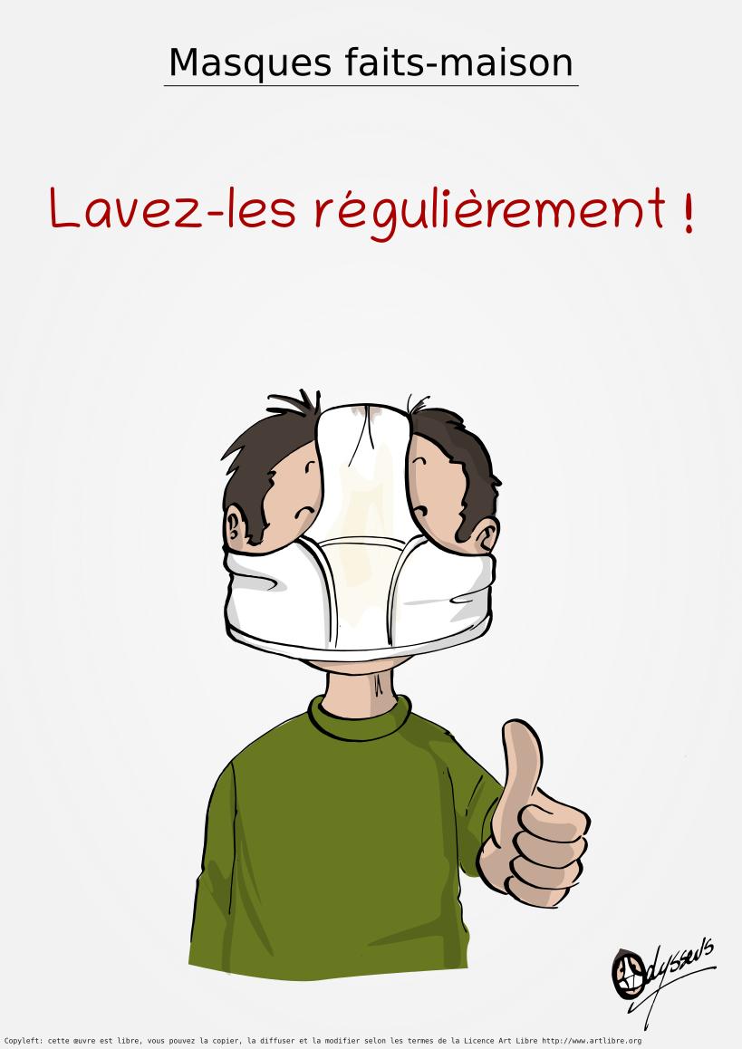Masques DIY – Le conseil du jour