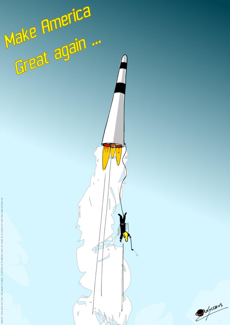 SpaceX – Make Amerika great again