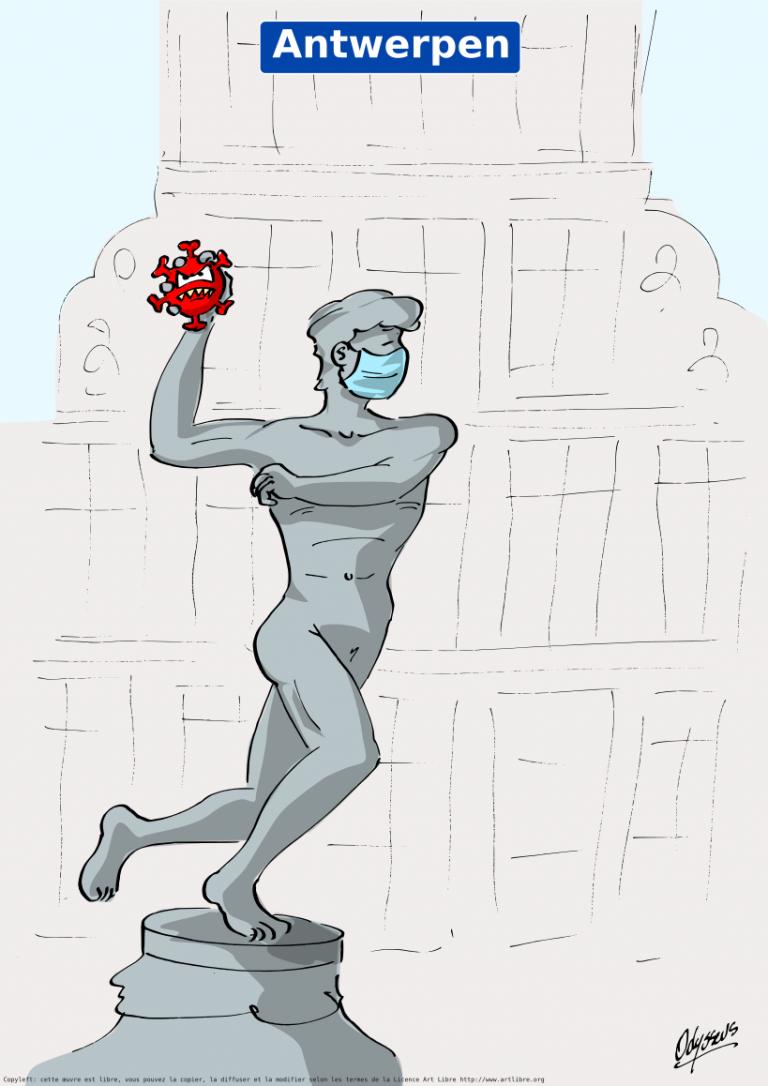 Anvers passe en zone rouge