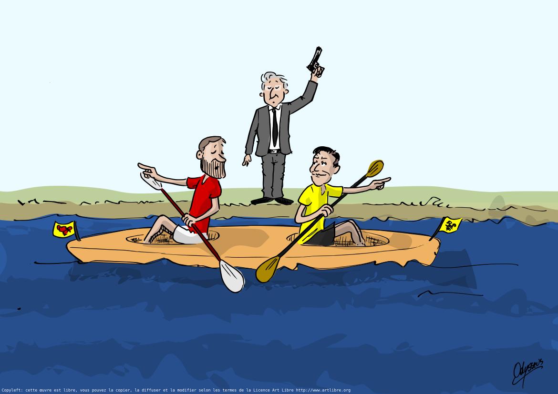Paul et Bart sont dans un bateau…