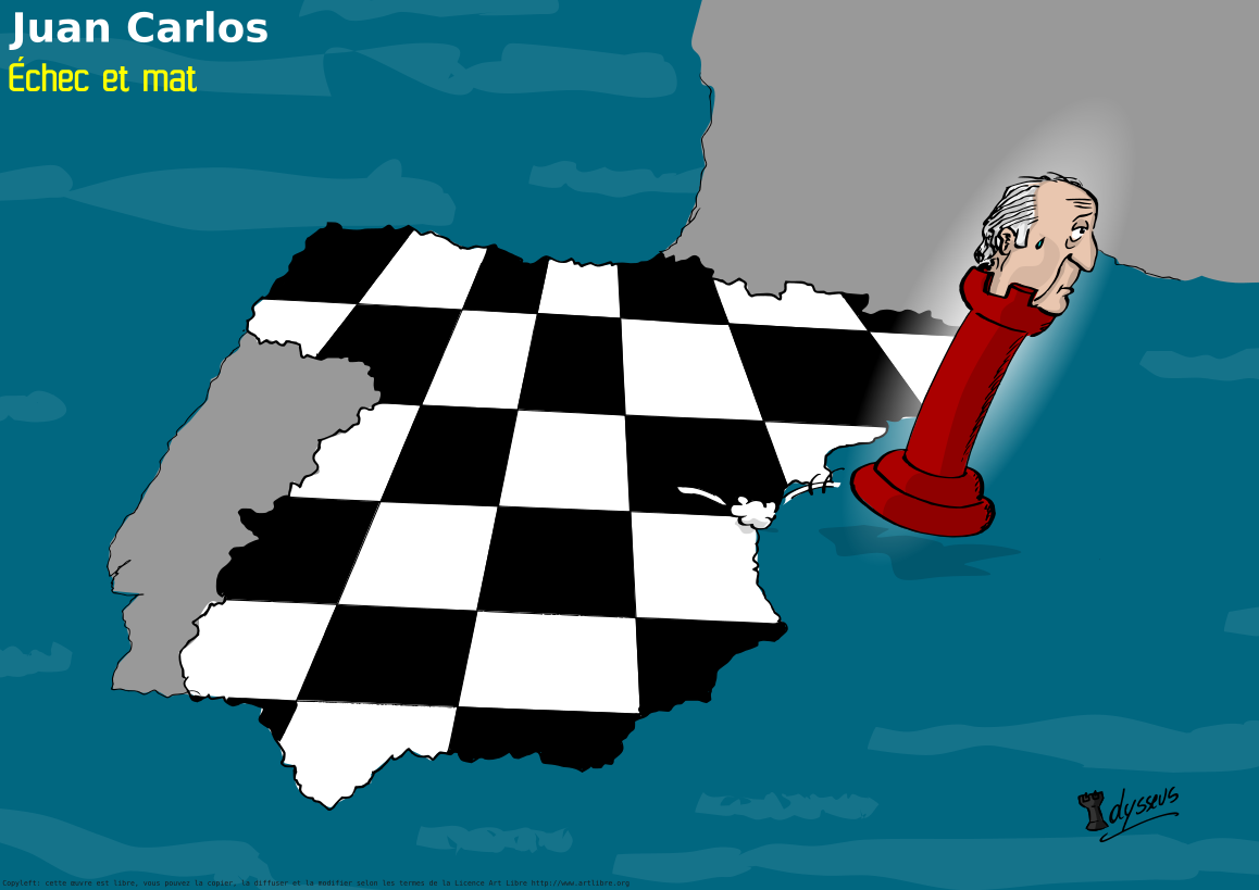 Juan Carlos : échec et mat