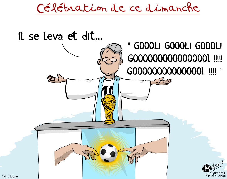 Célébration de ce dimanche