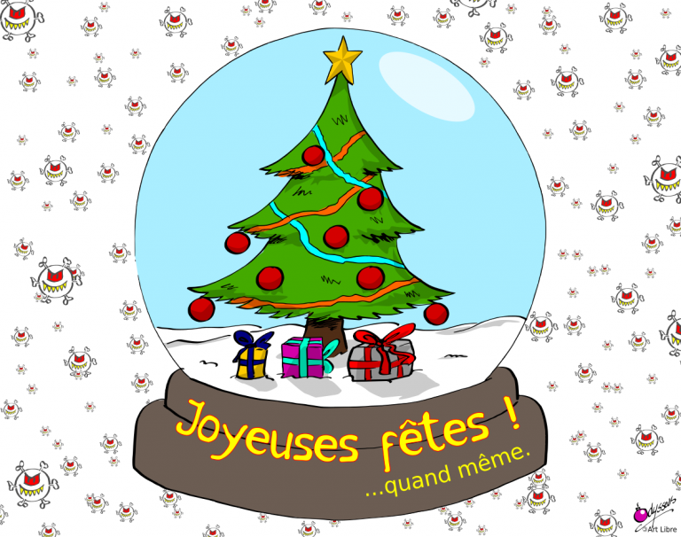 Joyeuses fêtes…