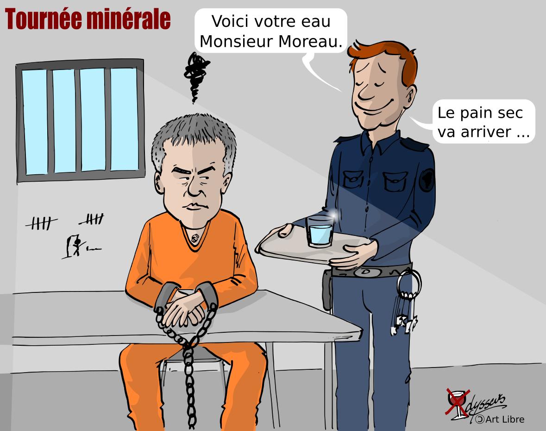 La tournée minérale de Stéphane Moreau